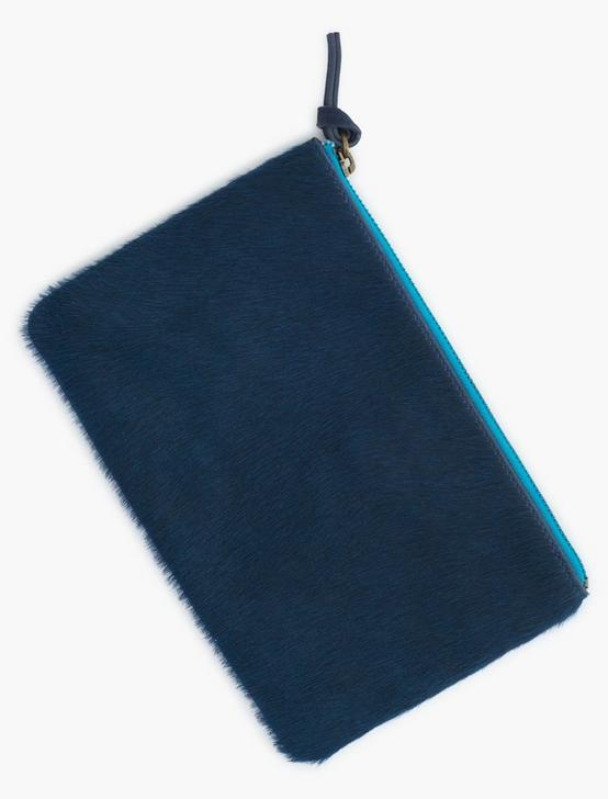 MIXED MATERIAL COLORBLOCK BAG, TEAL, productTileDesktop