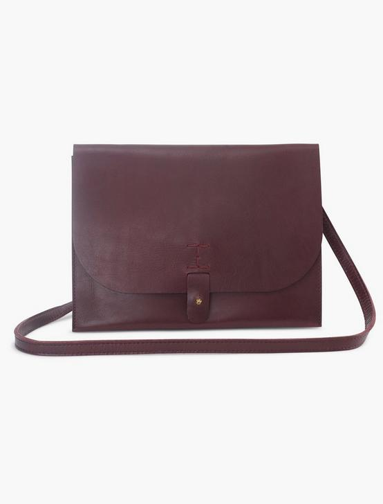 LEATHER CROSSBODY BAG, PLUM, productTileDesktop
