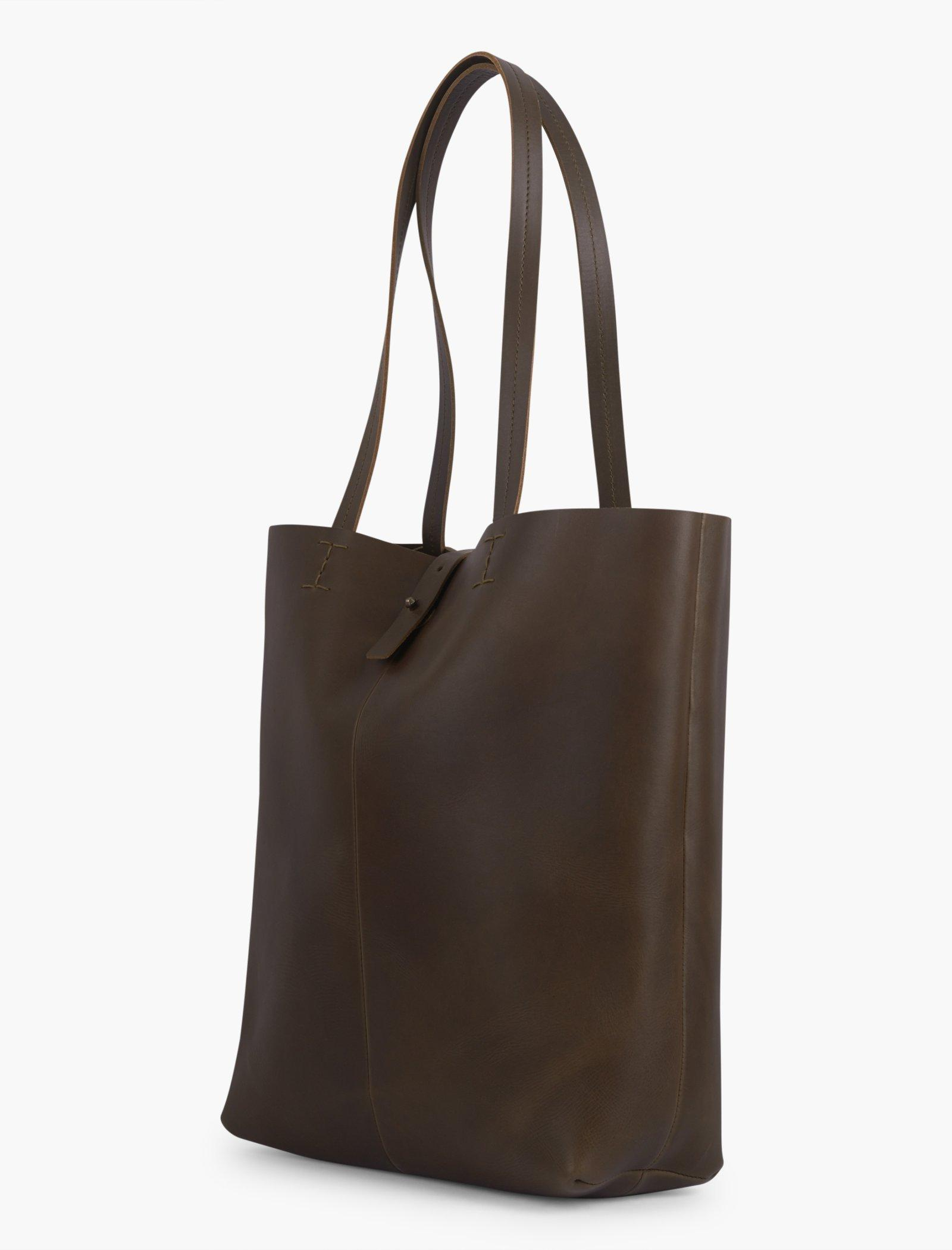THE POINT LEATHER TOTE BAG, image 2