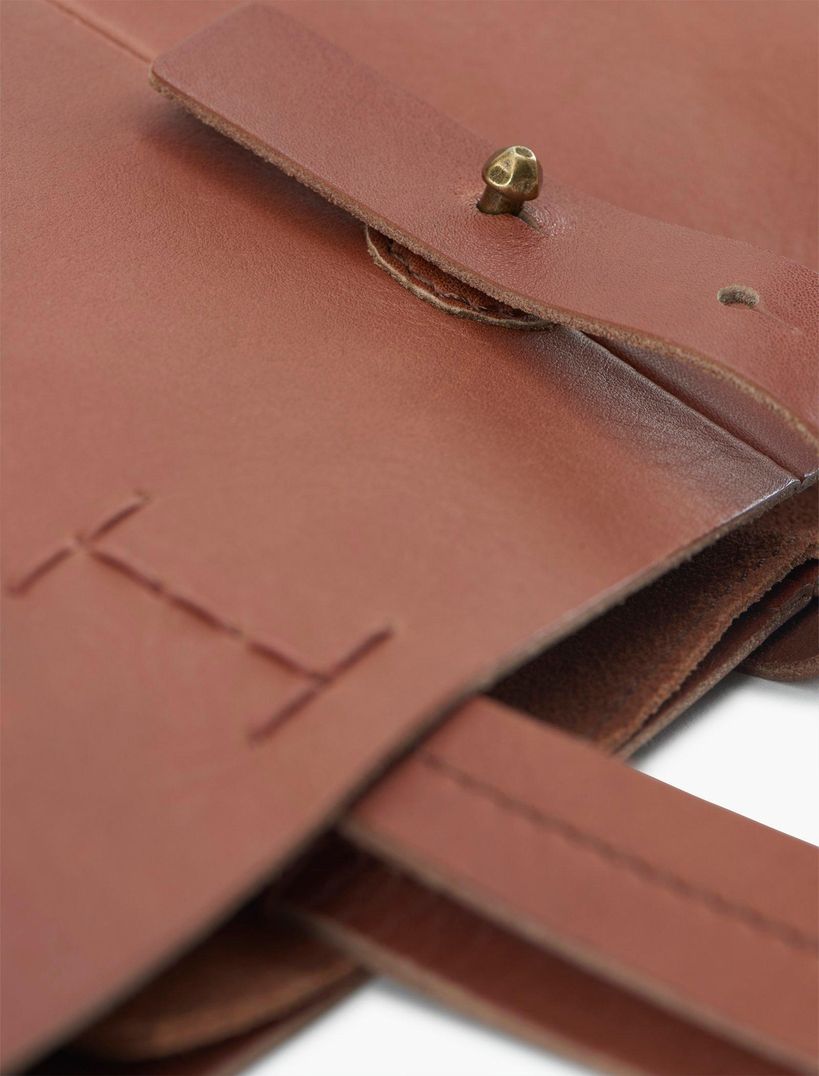 THE POINT LEATHER TOTE BAG, image 3