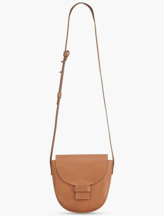 MINI SADDLE BAG CROSSBODY BAG, TAN, productTileDesktop