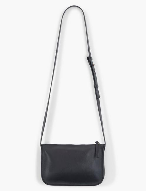 THE POINT LEATHER POCKET CROSSBODY BAG,