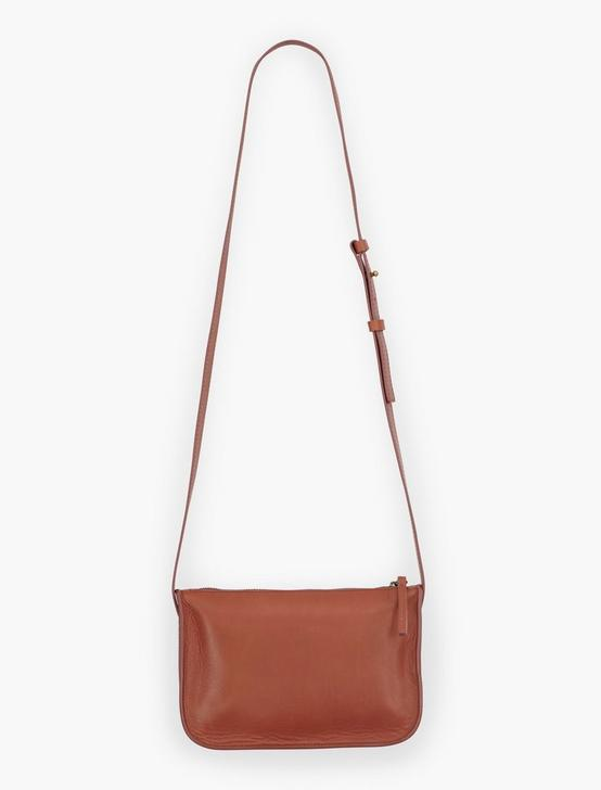 DOUBLE POCKET CROSSBODY, COGNAC, productTileDesktop