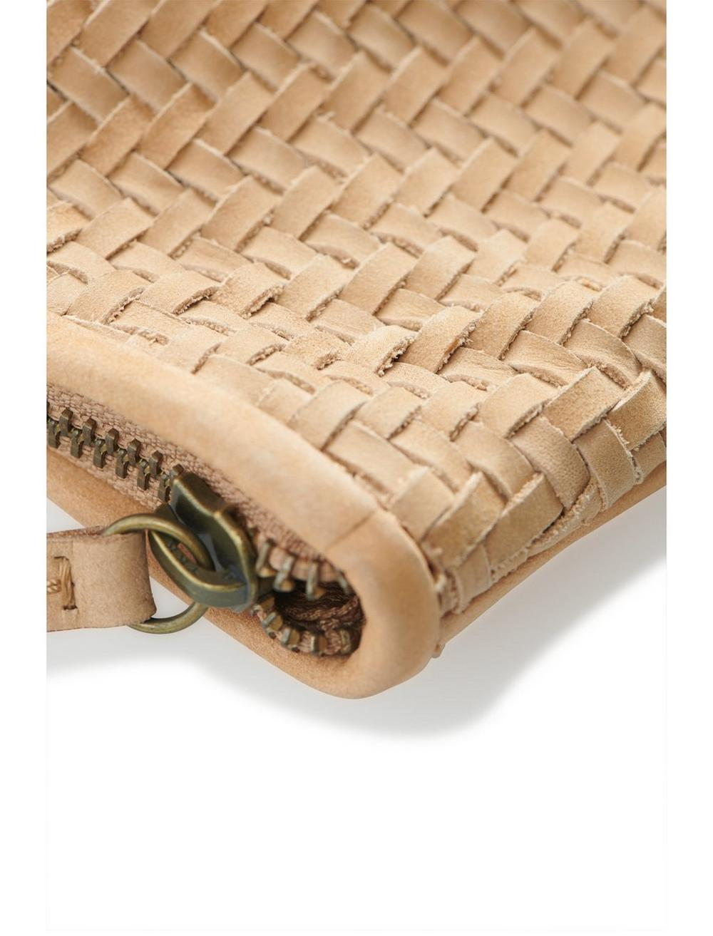 WOVEN LEATHER CLUTCH, image 4