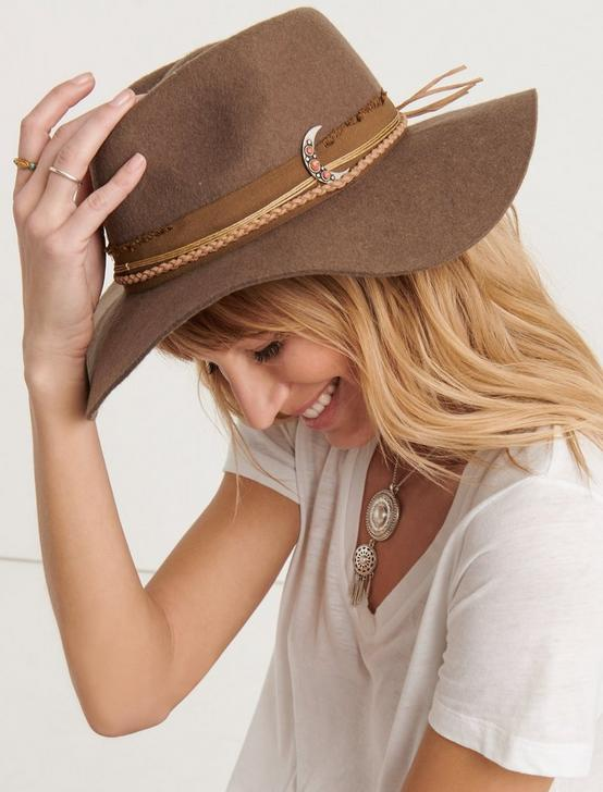 MOON MILAGRO WOOL HAT, TAUPE, productTileDesktop