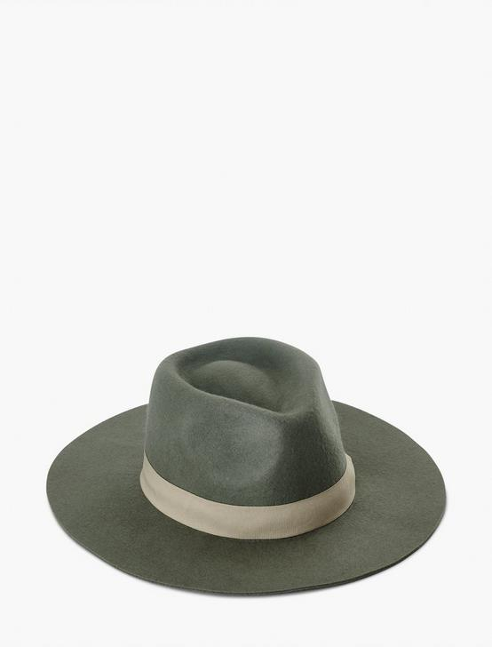 SAGE WOOL HAT, SAGE, productTileDesktop