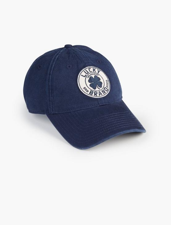 LUCKY BRANDED CLOVER HAT, MEDIUM DARK BLUE, productTileDesktop