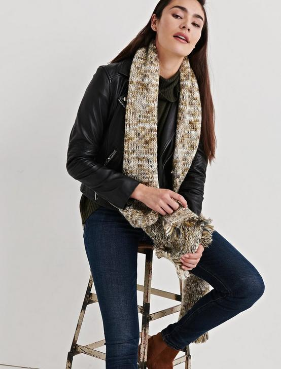 MARLED SKINNY SCARF, NEUTRAL, productTileDesktop