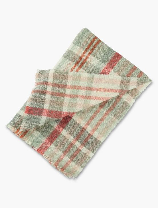 PLAID BOUCLE SCARF, MULTI, productTileDesktop
