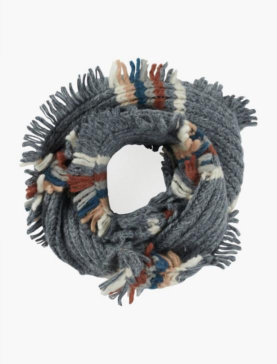 STRIPED LOOP SCARF, MULTI, productTileDesktop