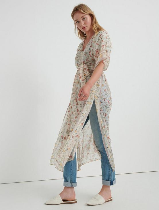 Lost In The Field Duster Kimono