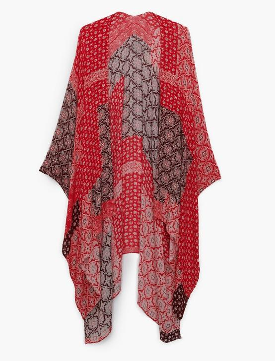 PATCHWORK KIMONO, RED, productTileDesktop