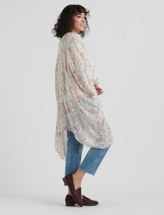 EXPLODED FLORAL KIMONO, CREAM MULTI, productTileDesktop