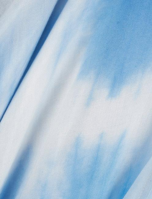 TIE DYE  KIMONO, #458 BLUE
