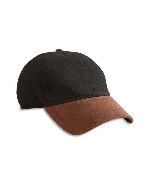 396a31aa702b Suede Brim Baseball Hat   Lucky Brand