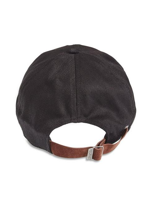 c24f75808528 SUEDE BRIM BASEBALL HAT, #001 BLACK ...