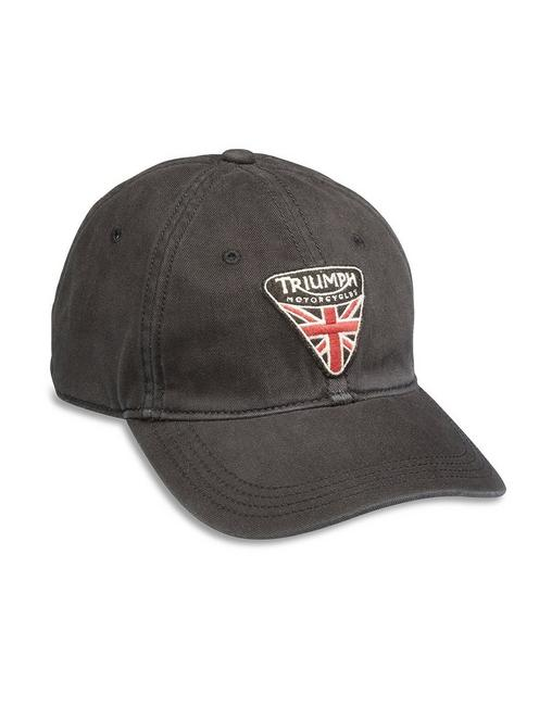 TRIUMPH MOTORCYCLES PATCH, BLACK