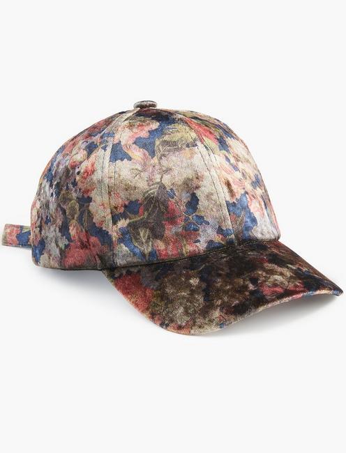 VELVET BASEBALL HAT,
