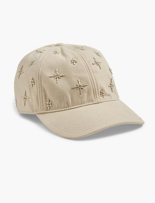 EMBELLISHED BASEBALL HAT,
