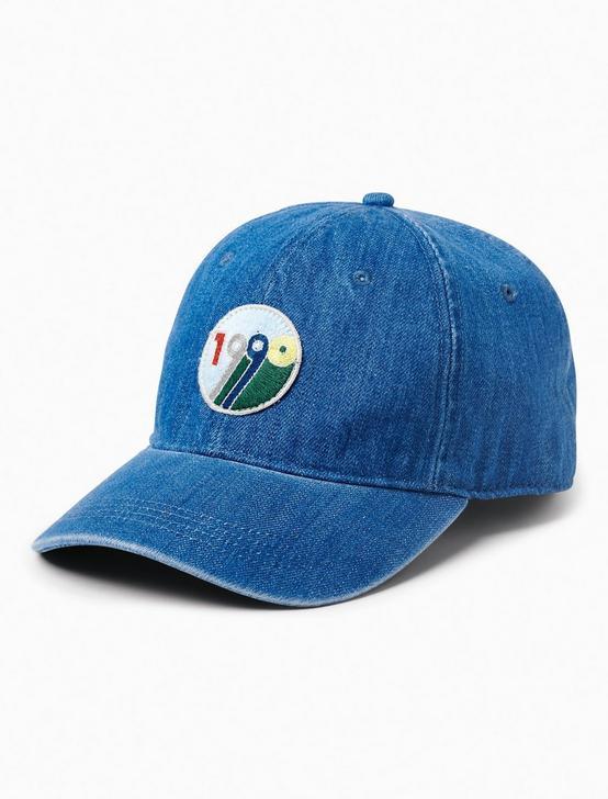 1990 BASEBALL HAT, DENIM, productTileDesktop