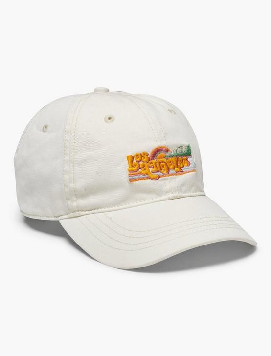 LOS ANGELES BASEBALL HAT, CREAM, productTileDesktop