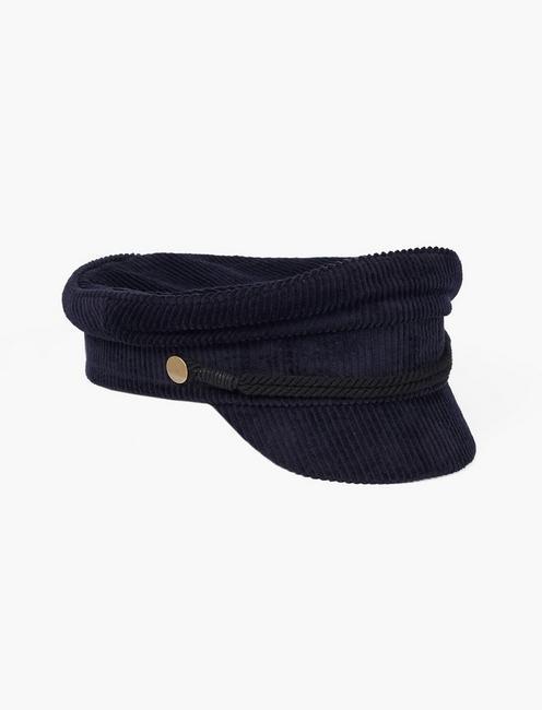 CORDUROY CONDUCTOR HAT,