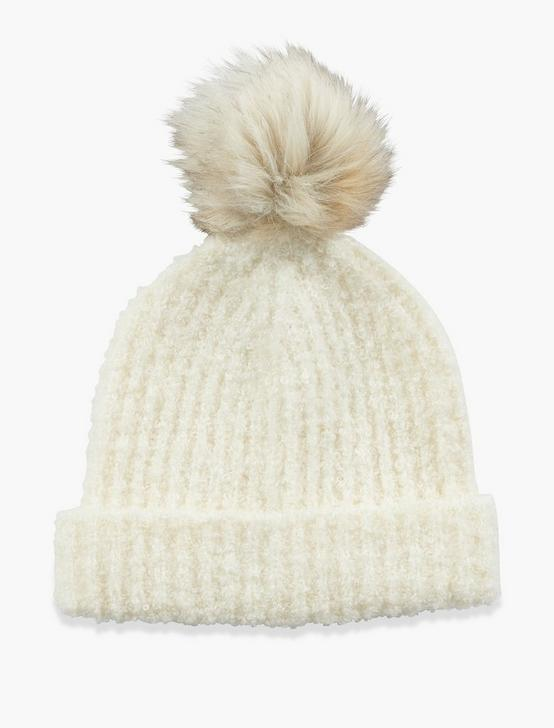 BOUCLE BEANIE, WINTER WHITE, productTileDesktop