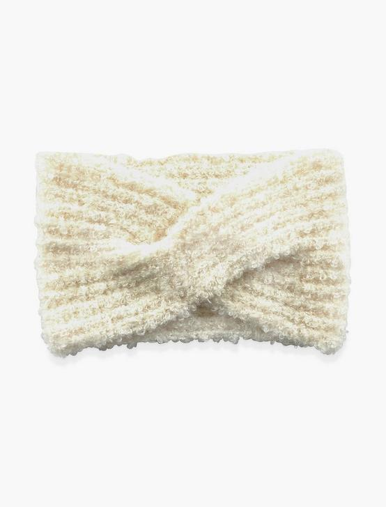 BOUCLE HEADBAND, CREAM, productTileDesktop