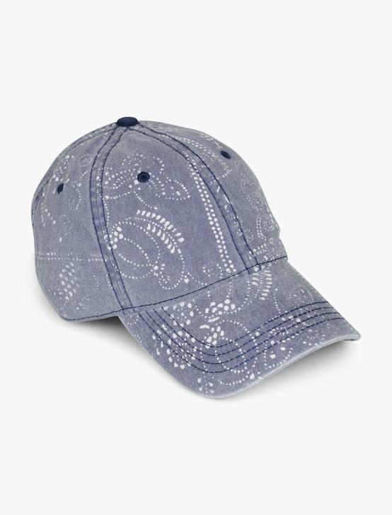 BANDANA BASEBALL HAT, NAVY, productTileDesktop