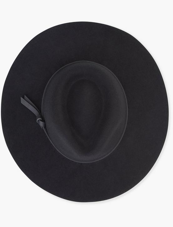BLACK WOOL HAT, BLACK, productTileDesktop