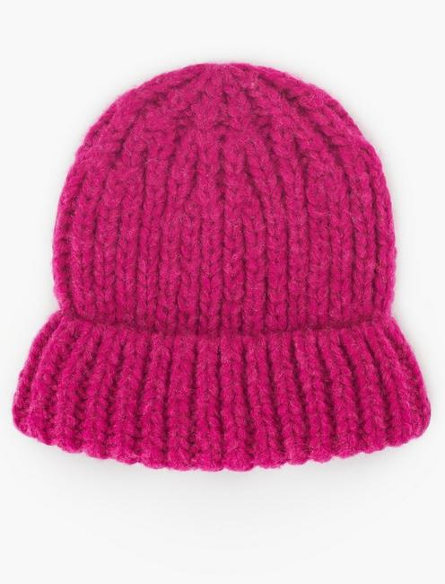SOLID KNIT BEANIE,