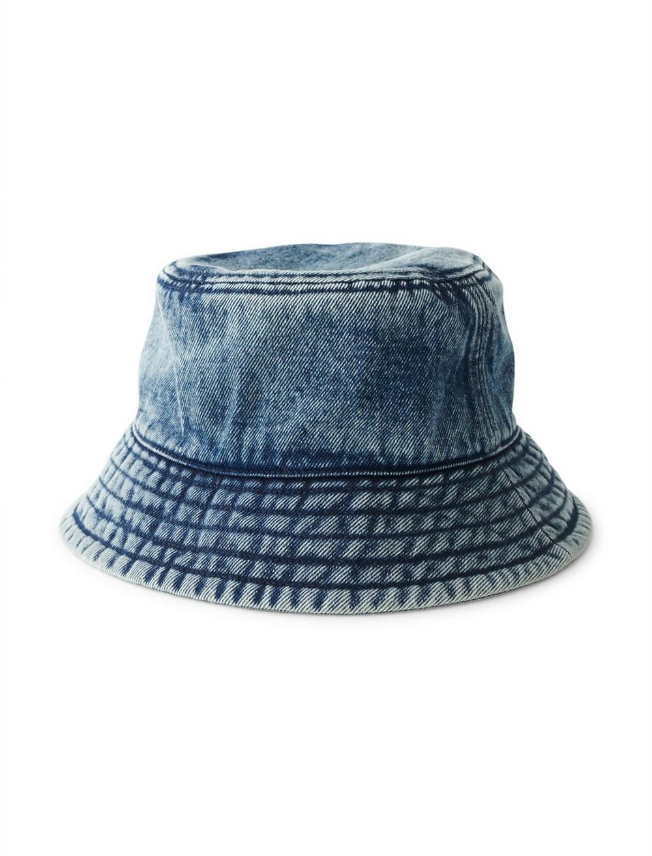 DENIM BUCKET HAT, image 1