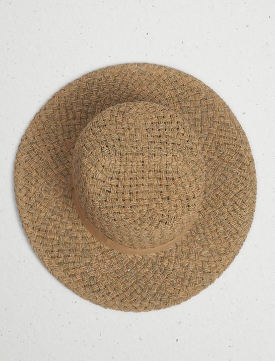 SUMMER BOATER HAT, WHITE, productTileDesktop