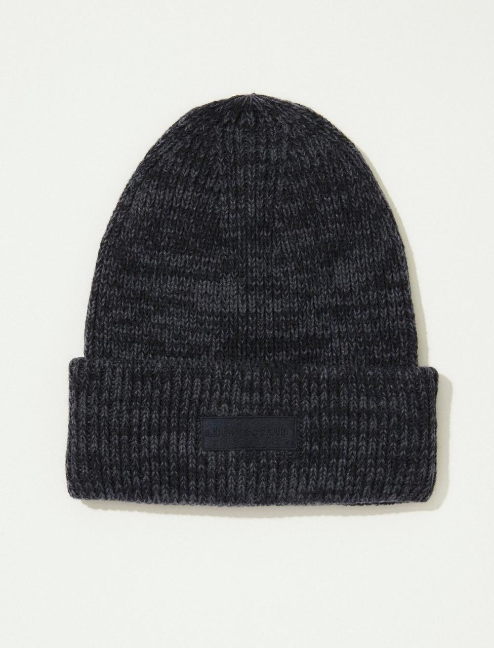 SOLID KNIT BEANIE HAT, image 1