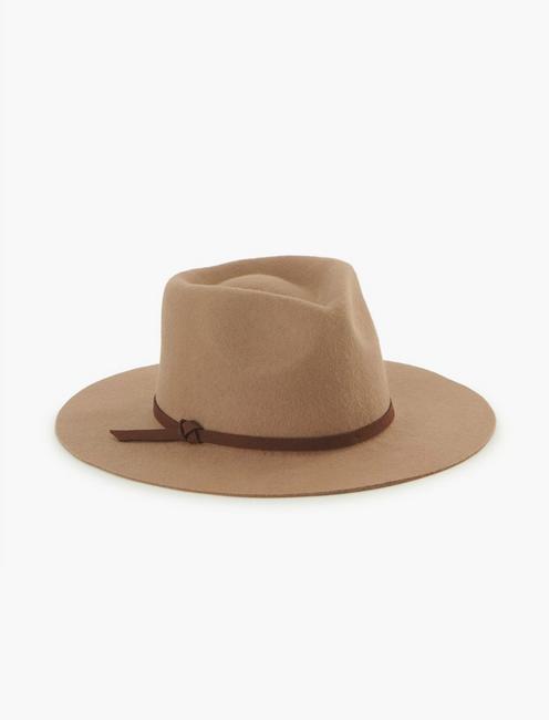 CAMEL RANGER WOOL HAT, CAMEL