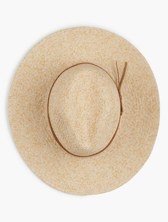 TWO TONE PANAMA HAT, #130 NATURAL, productTileDesktop