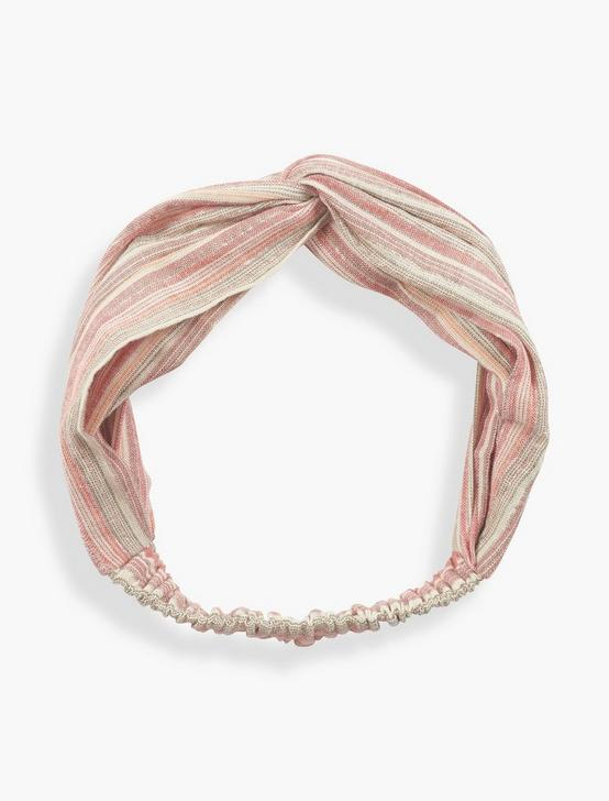 METALLIC HEAD SCARF, MULTI, productTileDesktop