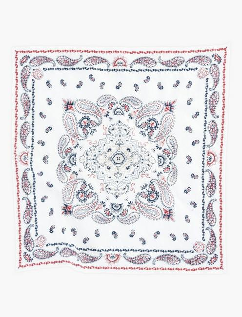 EMBROIDERED AMERICANA BANDANA, MULTI