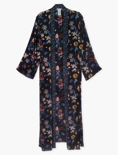 MIXED FLORAL DUSTER, MULTI