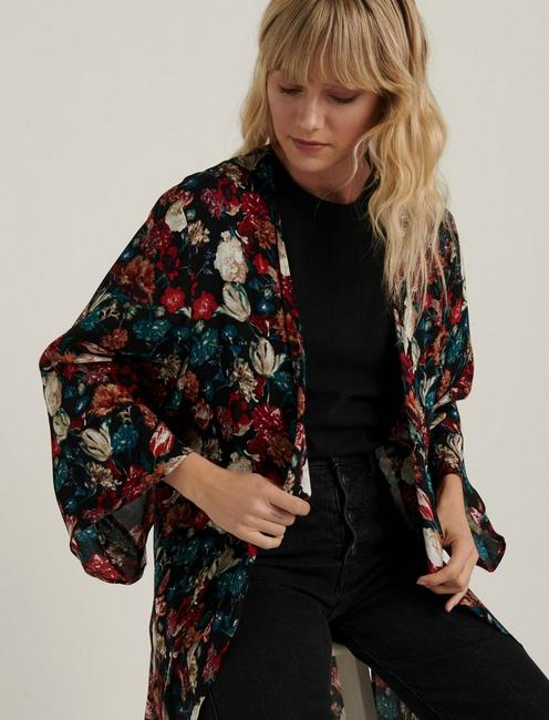 MULTI FLORAL DUSTER,