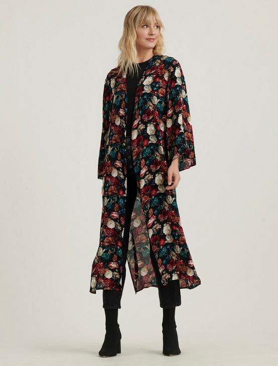 MULTI FLORAL DUSTER, MULTI, productTileDesktop