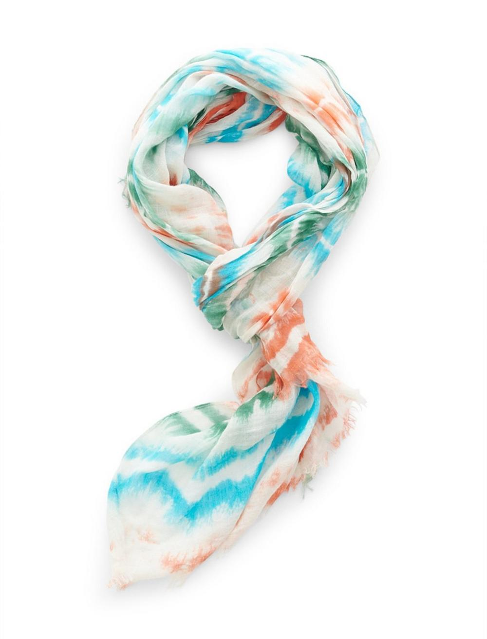 TIE DYE RECTANGLE SCARF, image 1