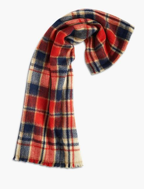 CHECKERED SCARF,