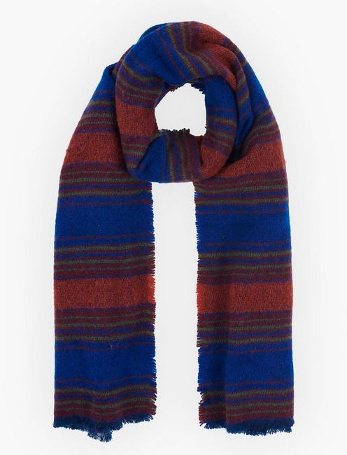 Lucky Gradient Stripe Scarf
