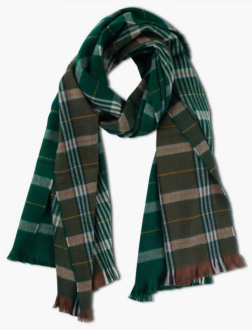 Lucky Patchwork Plaid Scarf