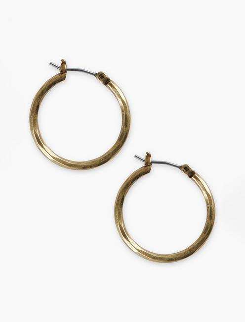 SMALL GOLD HOOP,