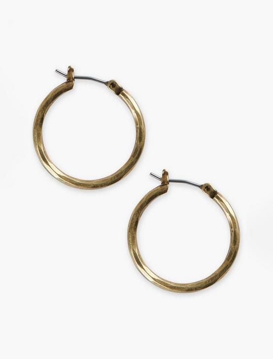 SMALL GOLD HOOP, GOLD, productTileDesktop