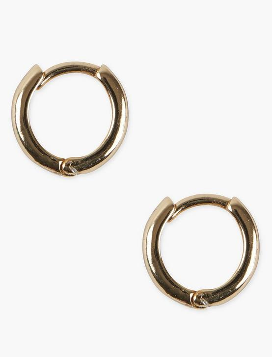 GOLD HOOP EARRING, GOLD, productTileDesktop
