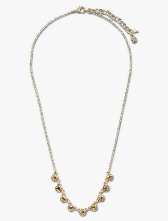 PAVE COLLAR NECKLACE, GOLD, productTileDesktop