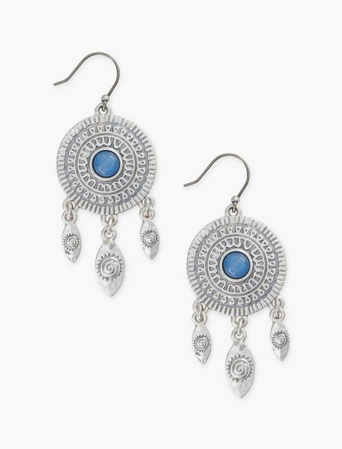ETCHED DANGLE EARRING,
